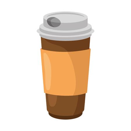 Coffee to go icon vector illustration graphic design Ilustração