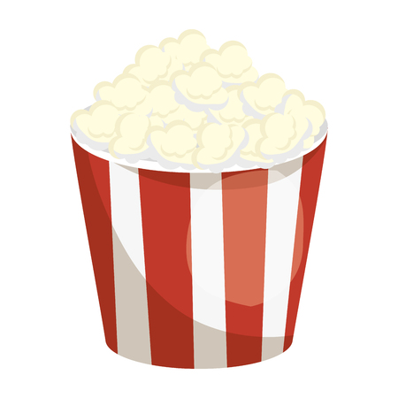 Cinema pop corn icon vector illustration graphic design