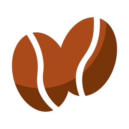 coffee grains isolated icon vector illustration design 矢量图像