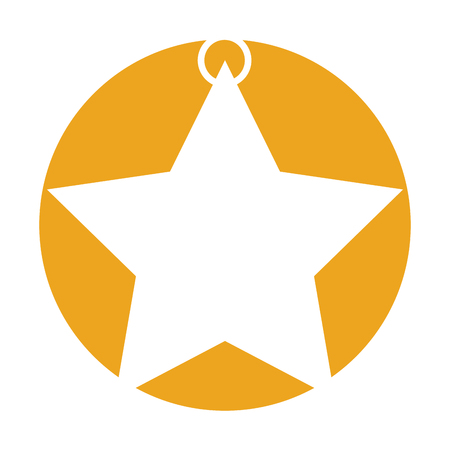star award: star decorative isolated icon vector illustration design