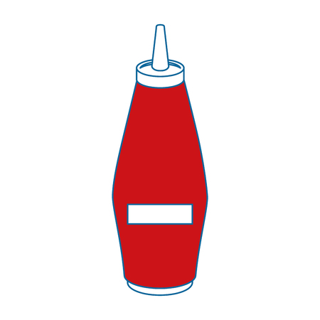 Mustard in bottle icon vector illustration graphic design