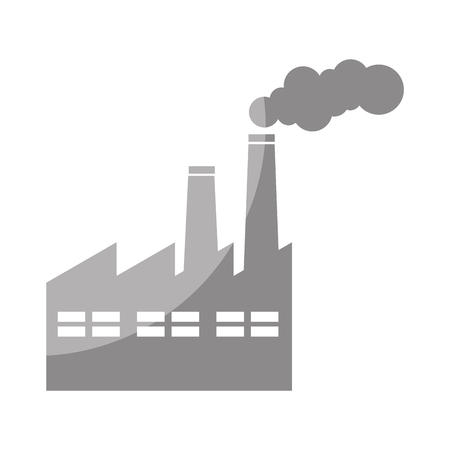 factory building isolated icon vector illustration design Stock Vector - 79764103