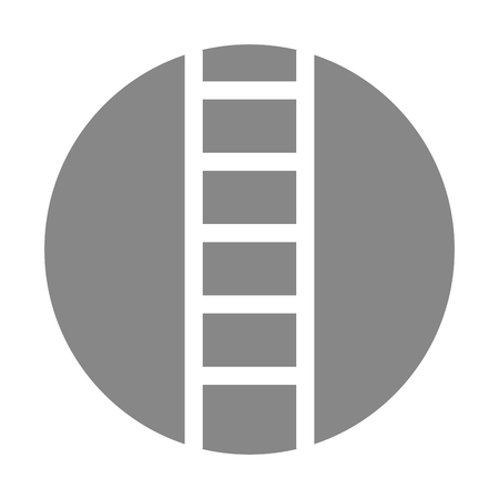 stairs tool isolated icon vector illustration design