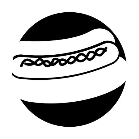 delicious hot dog icon vector illustration design Stock Vector - 79760720