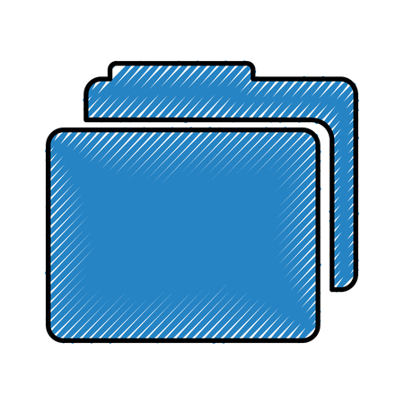 folder file isolated icon vector illustration design Stock Vector - 79805558