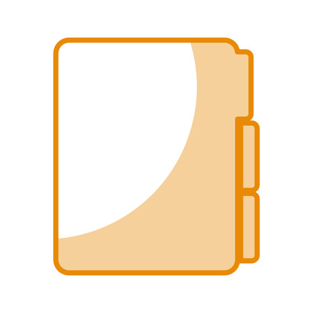 folder file isolated icon vector illustration design Иллюстрация