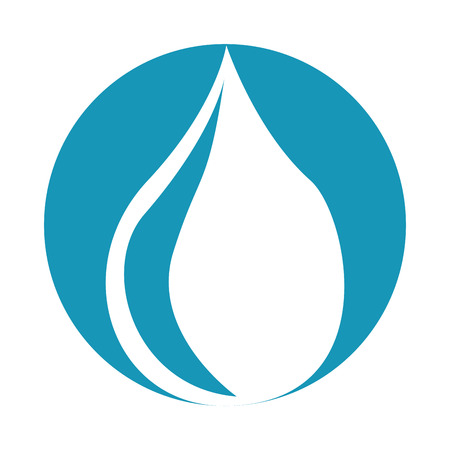 water drop isolated icon vector illustration design Stock Vector - 79816947