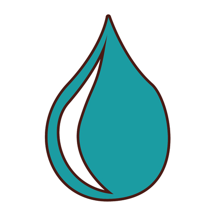 water drop isolated icon vector illustration design Stock Vector - 79817291