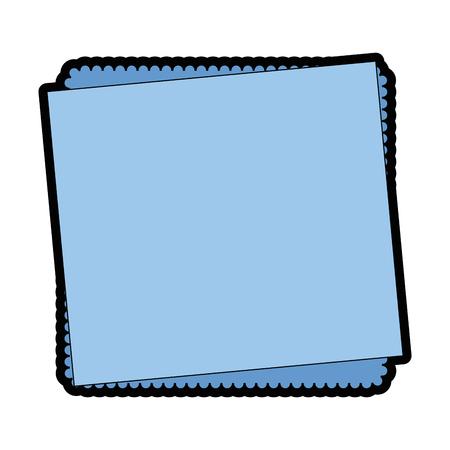 paper note sheet icon vector illustration graphic design Illustration