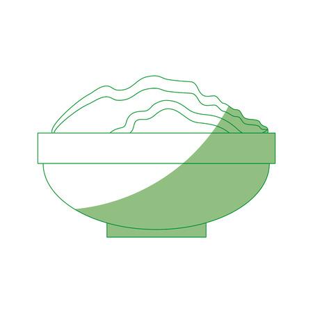 Vruchtbaar land voor tuinieren pictogram vector illustratie grafisch ontwerp
