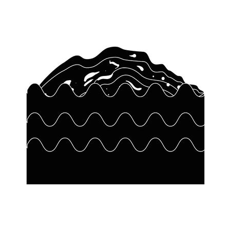 Fertile land for gardening icon vector illustration graphic design Imagens - 79818774