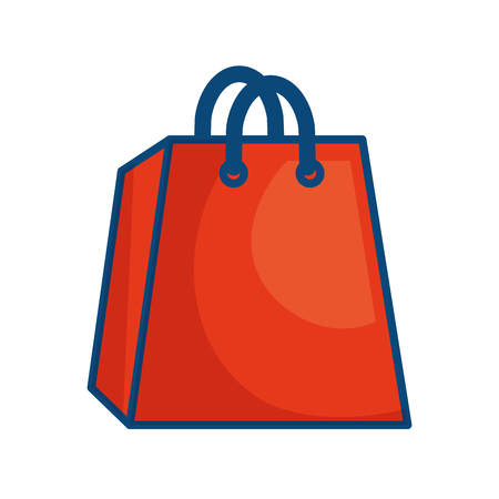 Shopping bag symbol icon vector illustration graphic design