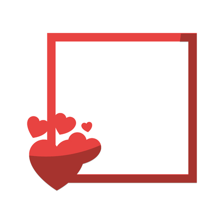 Hearts and love icon vector illustration graphic design Reklamní fotografie - 79820897