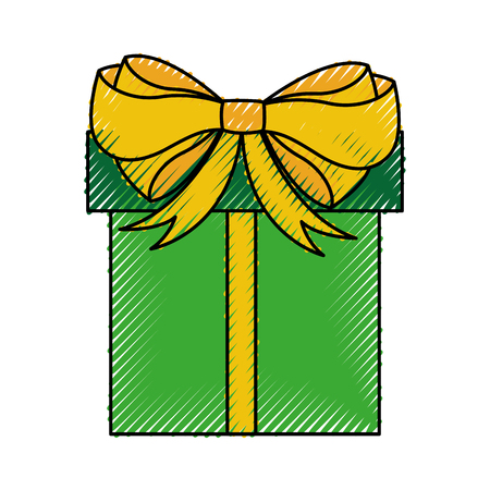 giftbox present isolated icon vector illustration design Stock Vector - 79884635