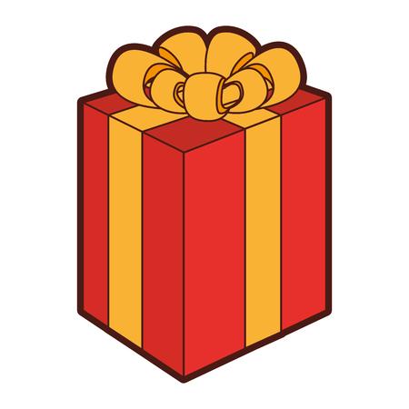 giftbox present isolated icon vector illustration design Stock Vector - 79885123