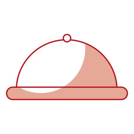 Serveur de plateau isolé icône vector illustration design Banque d'images - 79888161
