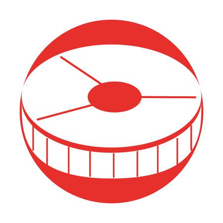 salmon slice isolated icon vector illustration design