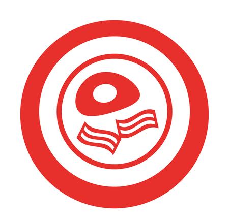 卵炒めおいしい bacoon ベクトル イラスト デザイン