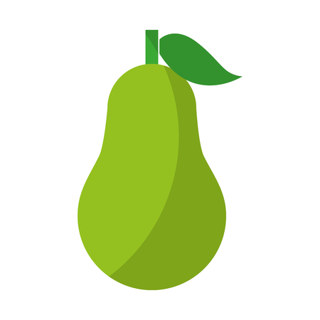 nutritional: pear fresh fruit isolated icon vector illustration design Illustration