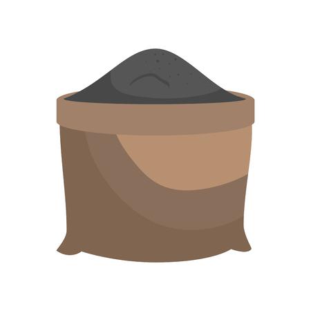 砂の粒袋ベクトル イラスト グラフィック デザイン アイコン  イラスト・ベクター素材