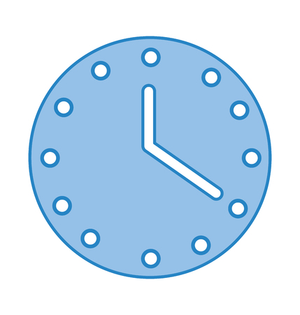 wall watch time icon vector illustration design Stok Fotoğraf - 79890003