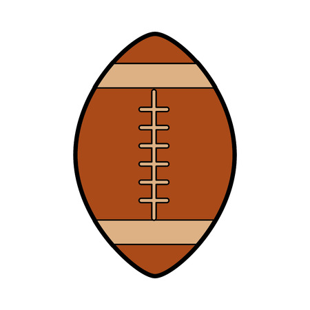 american football ball cartoon vector graphic design 版權商用圖片 - 79942818