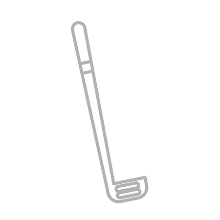 silver grass: shadow cute grey golf club cartoon vector graphic design
