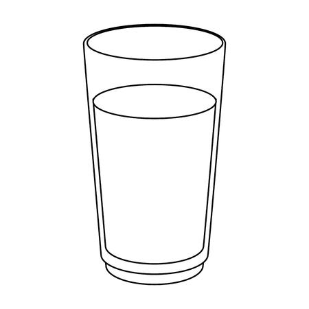 orange juice icon over white background vector illustration