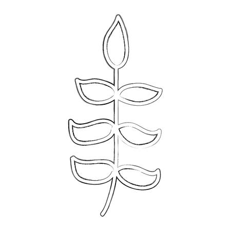 schets tekenen bush cartoon vector grafische vormgeving