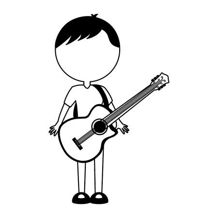 black icon body man cartoon vector graphic design Illustration