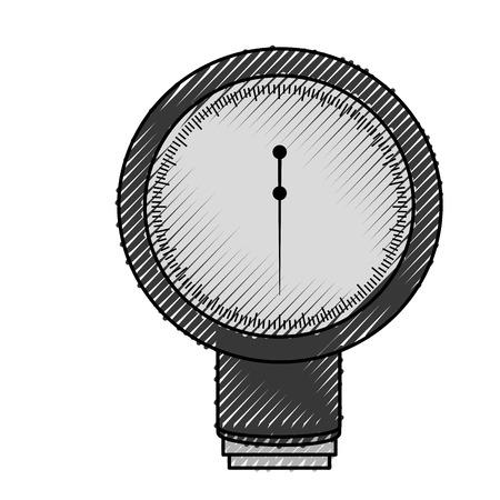 Garabato Sangre plessure aparato dibujos animados vector de diseño gráfico Foto de archivo - 79967397