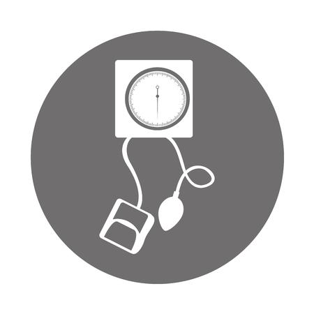 丸いアイコン グレー血 plessure 装置漫画ベクトル グラフィック デザイン  イラスト・ベクター素材