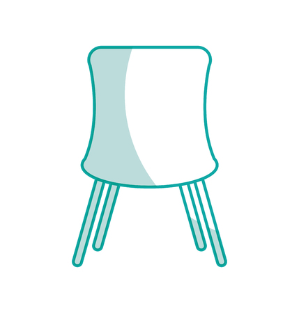 chair desk isolated iicon vector illustration design Illustration
