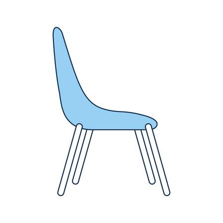 side table: chair desk isolated iicon vector illustration design Illustration