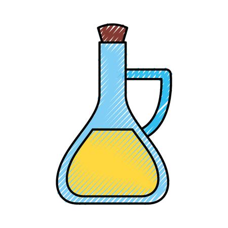 oil jasr spa bottle vector illustration design Banco de Imagens - 80039482