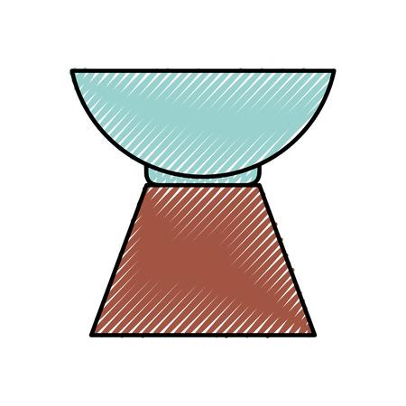 조약돌 아로마 테라피 격리 아이콘 벡터 일러스트 레이 션 디자인 일러스트