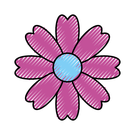 natural flower spa icon vector illustration design