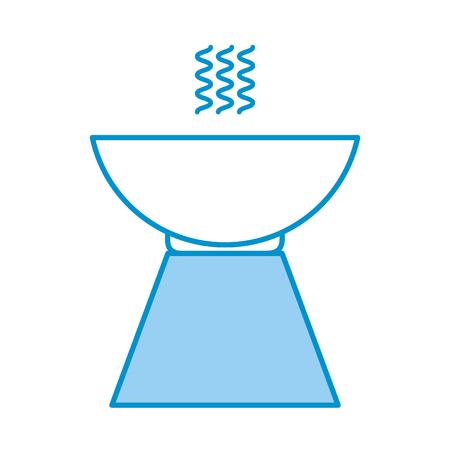 Pebble Aromathérapie icône isolée design d'illustration vectorielle Banque d'images - 80039523