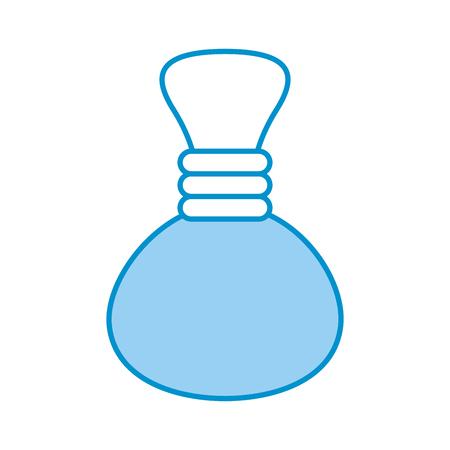 oil jasr spa bottle vector illustration design Illusztráció