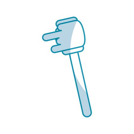 Bâton de miel isolé icône illustration vectorielle design Banque d'images - 80034903