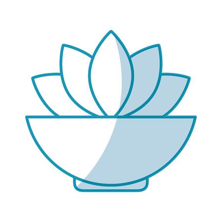 natural flower spa icon vector illustration design Stock Vector - 80034933