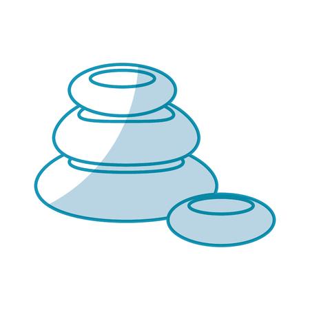 stones pile spa icon vector illustration design Иллюстрация