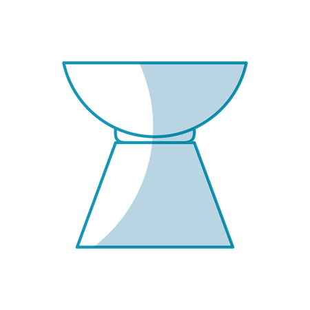 小石アロマセラピー分離アイコン ベクトル イラスト デザイン  イラスト・ベクター素材
