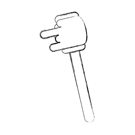 Bâton de miel isolé icône illustration vectorielle design Banque d'images - 80034084