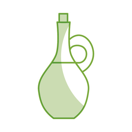 oil jar spa bottle vector illustration design Banco de Imagens - 80035359