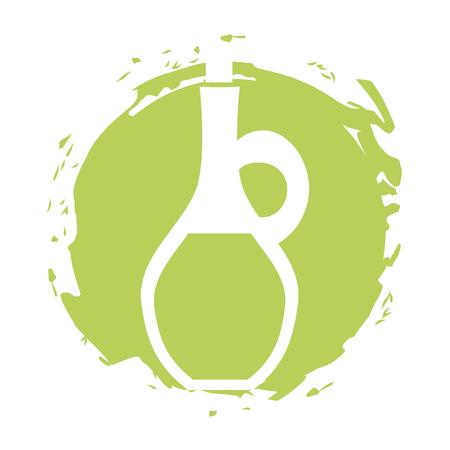 oil jasr spa bottle vector illustration design Ilustração