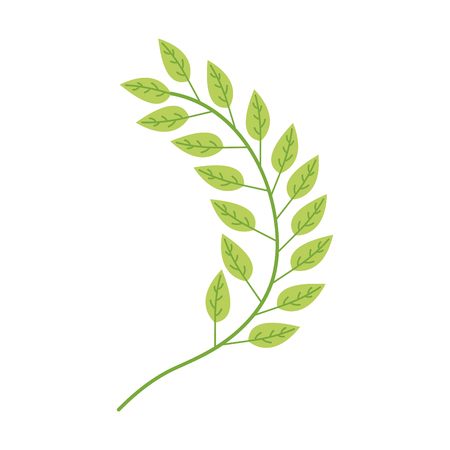 葉植物リース アイコン ベクトル イラスト デザイン  イラスト・ベクター素材