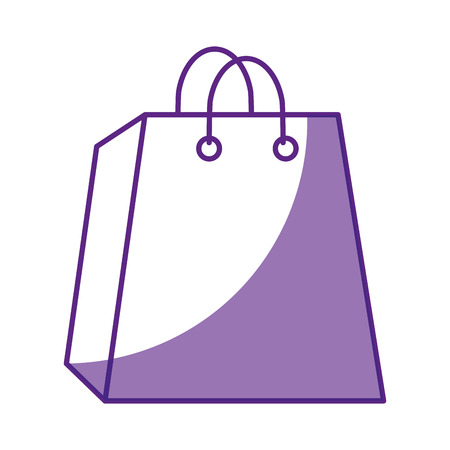 shopping bag icon over white background vector illustration Stock Vector - 80049077