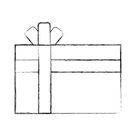giftbox present isolated icon vector illustration design Stock Vector - 80088162
