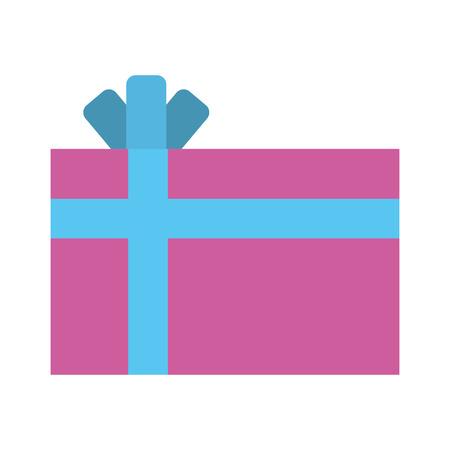 giftbox present isolated icon vector illustration design Stock Vector - 80109156